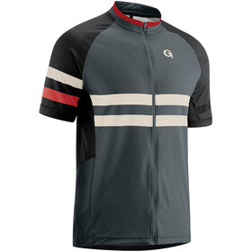 Gonso Boval Full-Zip SS Bike Shirt Men graphite